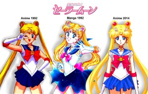 Sailor Moon Crystal manga anime